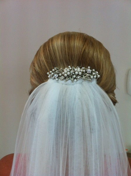 back view of vintage roll