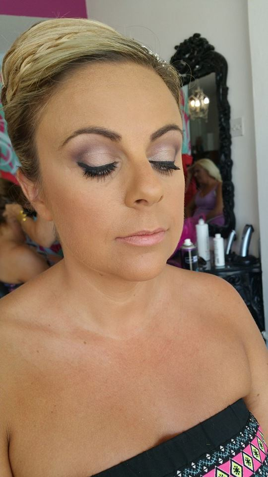 Bridal Make-up with Nude Lips