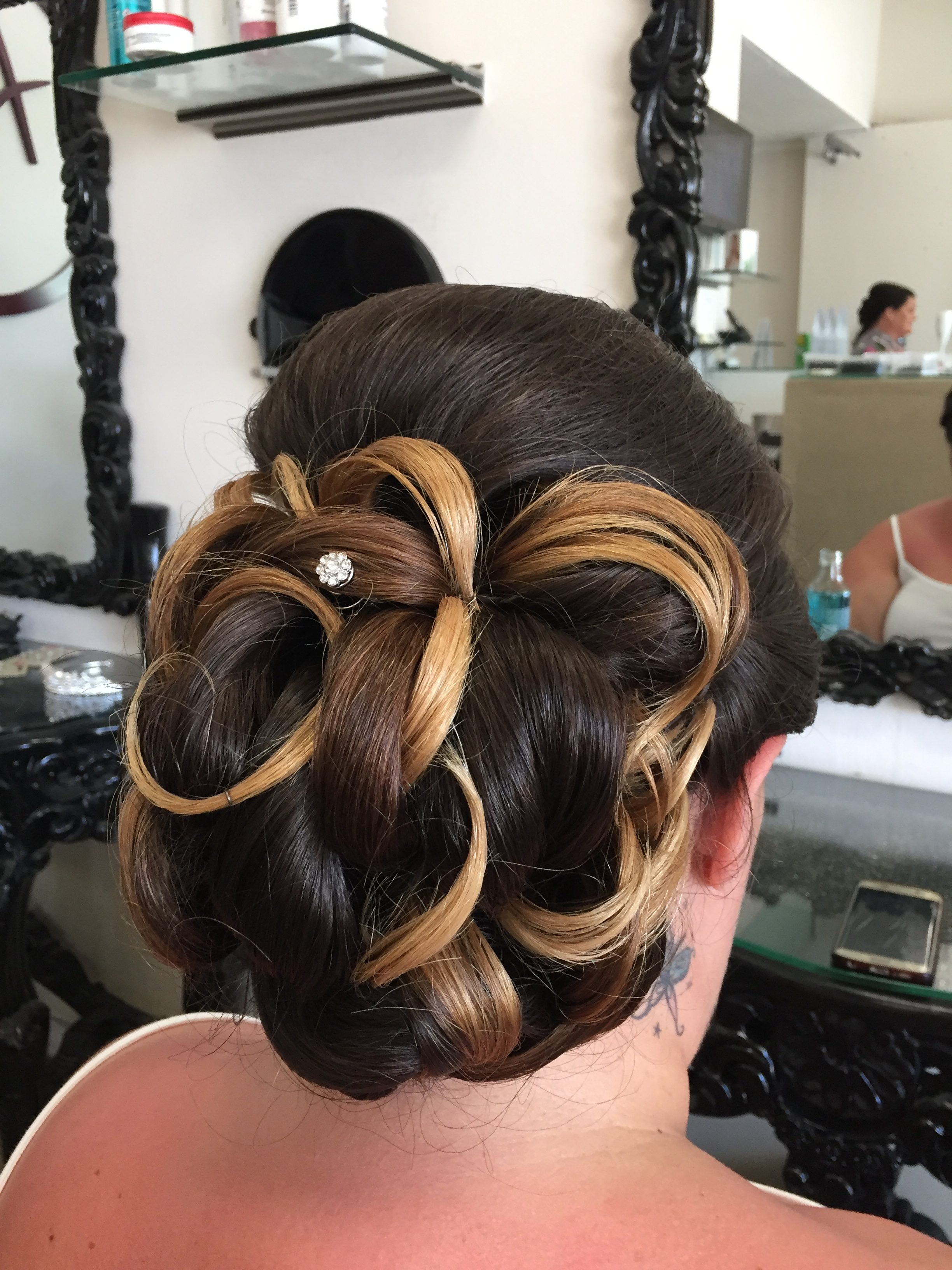 Bridesmaid Hair-up